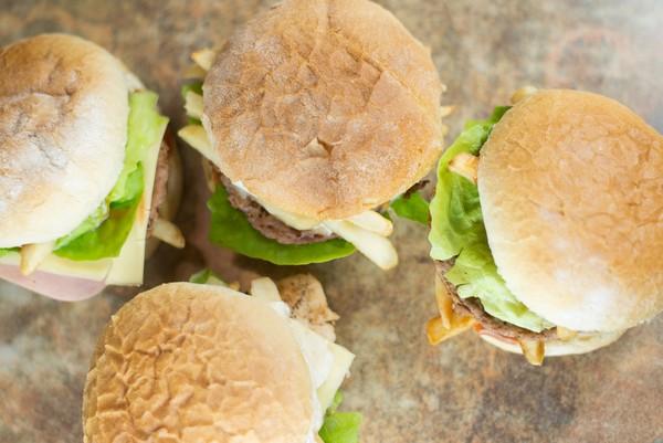 03. Hamburger Vegetarian