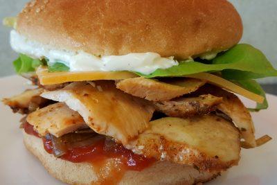 Hamburger Kebeb Napoleon Timisoara